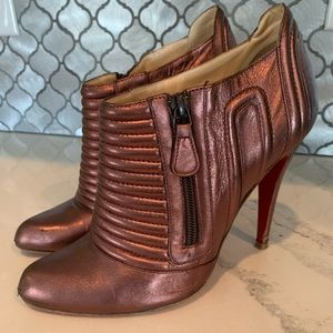 Authentic Christian Louboutin Bootie